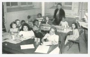 Classroom at Baden Street Settlement